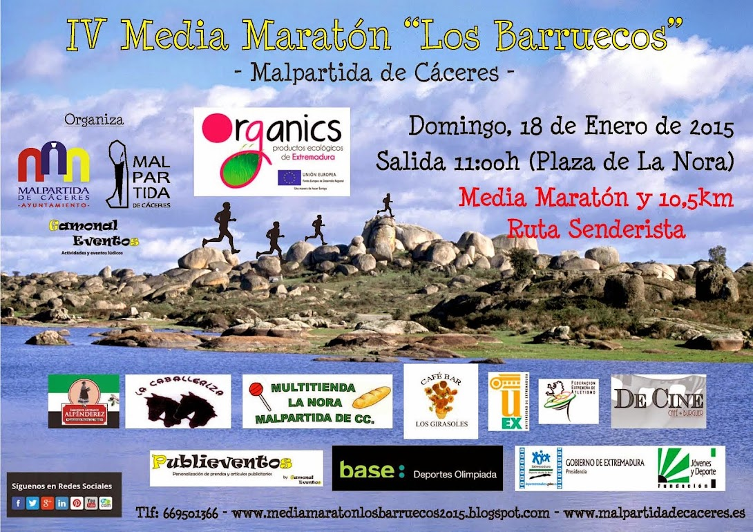 IV MEDIA MARATON LOS BARRUECOS 2015