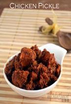 Andhra Chicken Pickle Recipe
