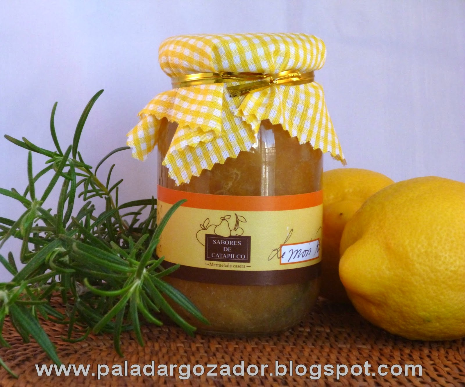 Mermelada Limon Sabores Catapilco