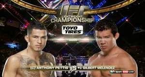 Vídeo da luta - Anthony Pettis x Gilbert Melendez