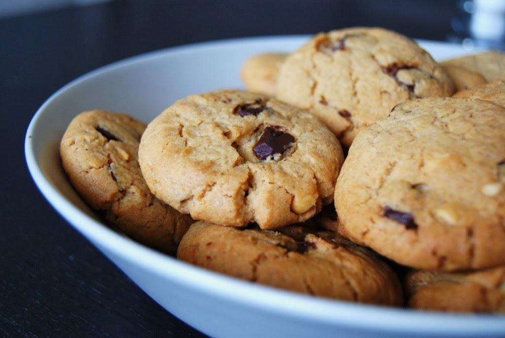 recette facile et rapide à réaliser : Les Cookies au Chocolat !
