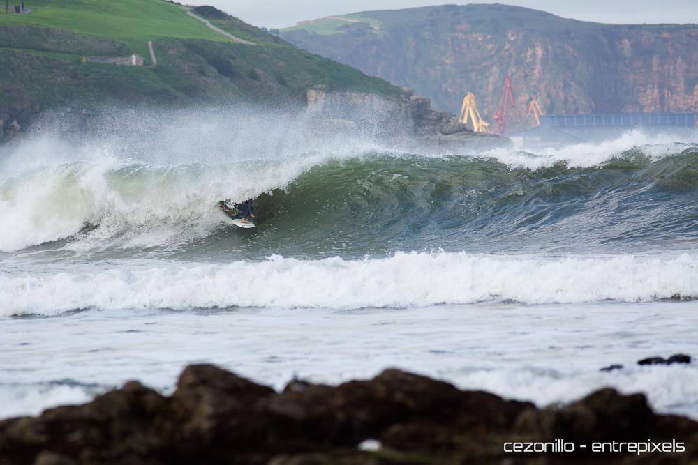 Dani Aznar, tubo en San Lorenzo