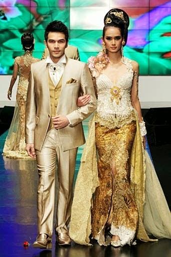 Foto Baju Pengantin Anne Avantie Model Kebaya Busana Pernikahan Raffi