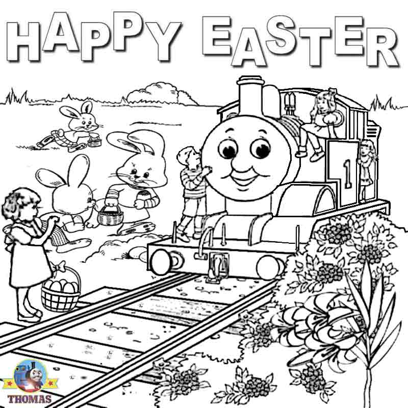 Online free printable Happy Easter coloring pictures activities for  title=
