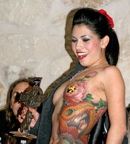 ful in body tattoo sexy girl