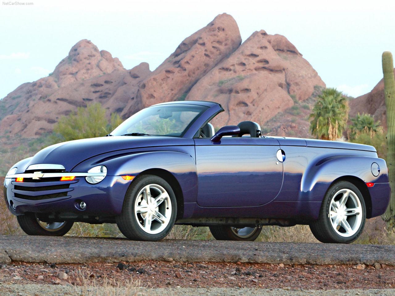 Chevrolet - Populaire français d'automobiles: 2003 Chevrolet SSR