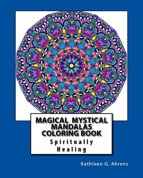 Magical Mystical Mandalas Coloring Book
