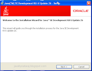 Installing and Setting Classpath for Java_JavabynataraJ_001