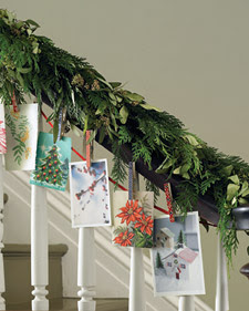 Ten Ways to Display Your Holiday Cards