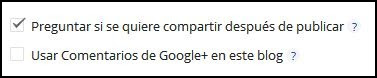 comentarios google plus blogger