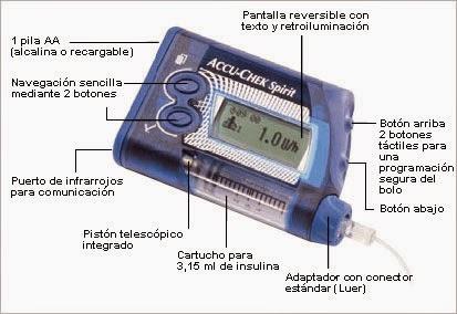 Bombas de insulina