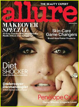 Penelope Cruz pe coperta revistei Allure