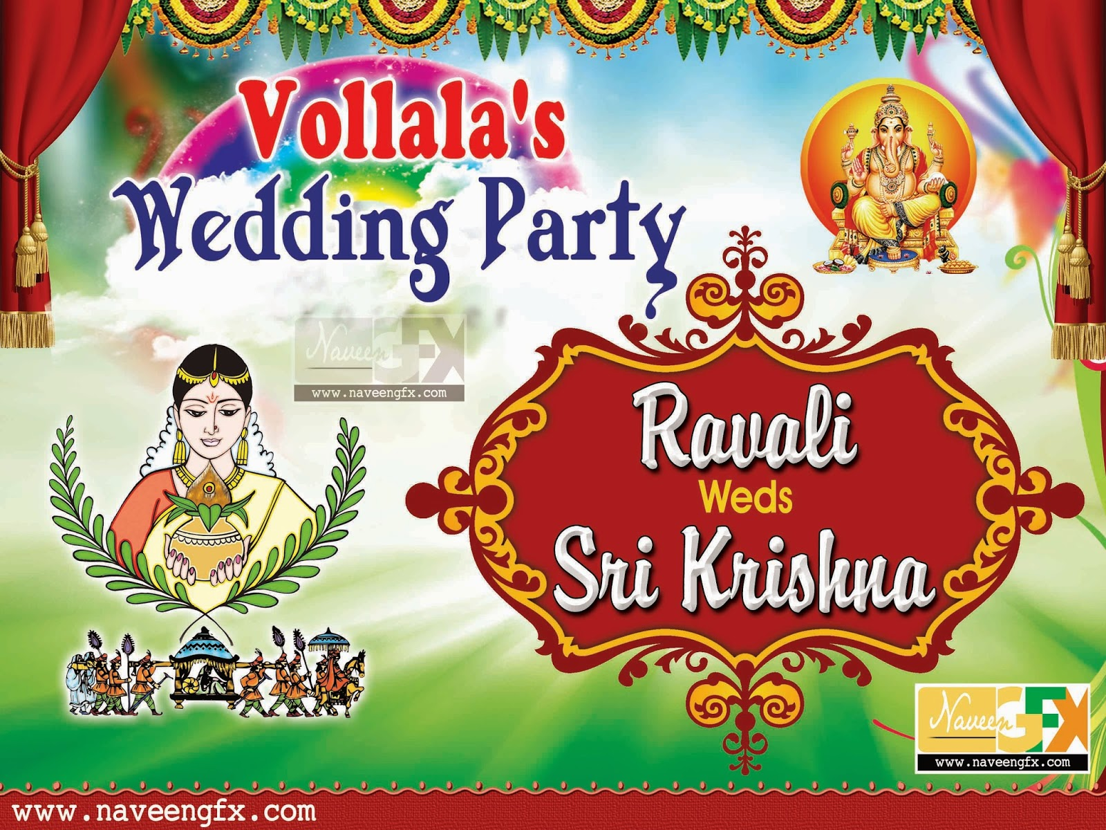 Wedding banner | naveengfx