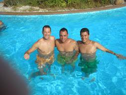 Jaime, Óscar y yo.-Mojácar-