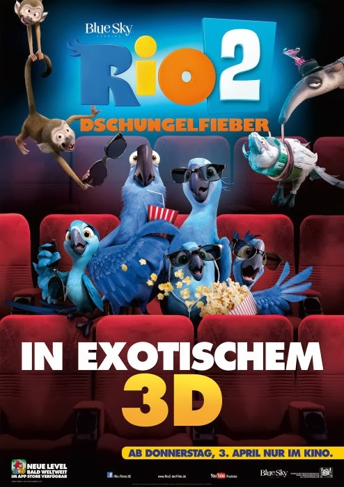 Rio 2 trailer rio 2 movie posters here below the official movie posters of rio 2 click on a poster to enlarge voltagebd Images