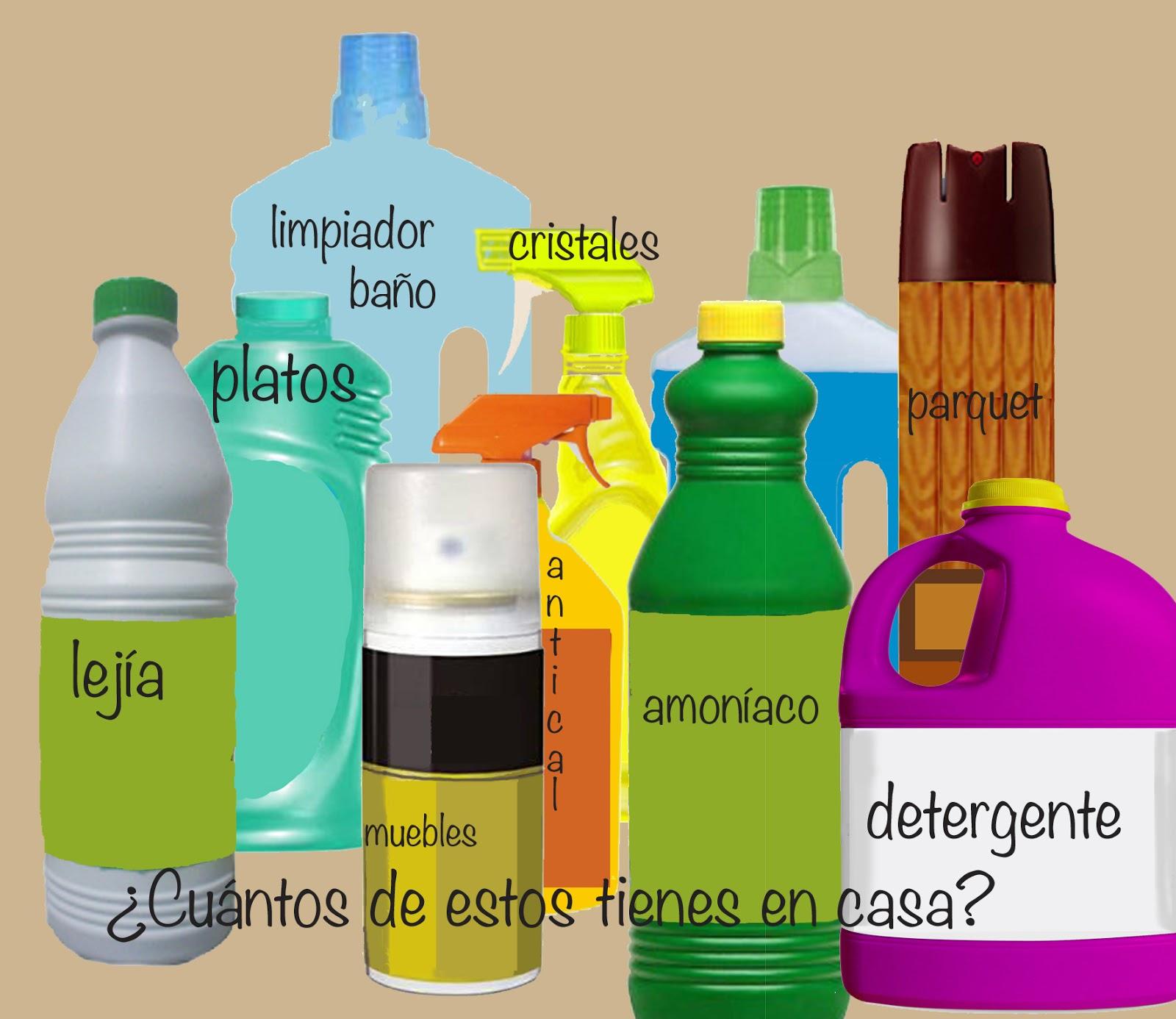 Bruja burbujas 10 limpiadores caseros ecol gicos y - Productos de limpieza caseros ...
