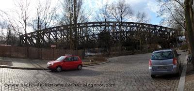 Liesenbrücken, berlin, mauer