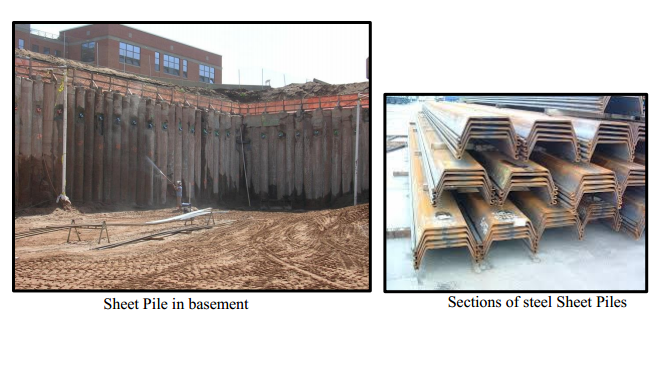 "Sheet Pile Walls ""article"""
