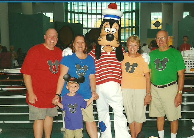 Personalized Mickey Head Shirts from Hi! It's Jilly
