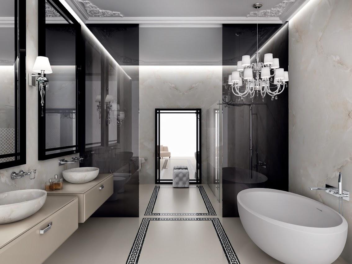 Bagno il lusso del benessere con teuco for Newest bathroom styles