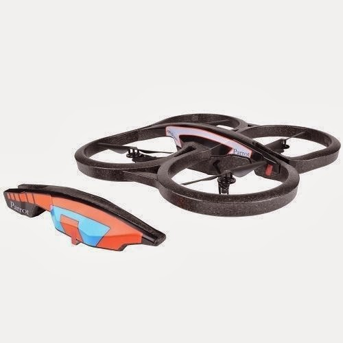 Parrot AR Drone 2.0 Remote Control RC Quadricopter, rc, helicopter