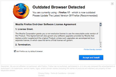 outdated firefox