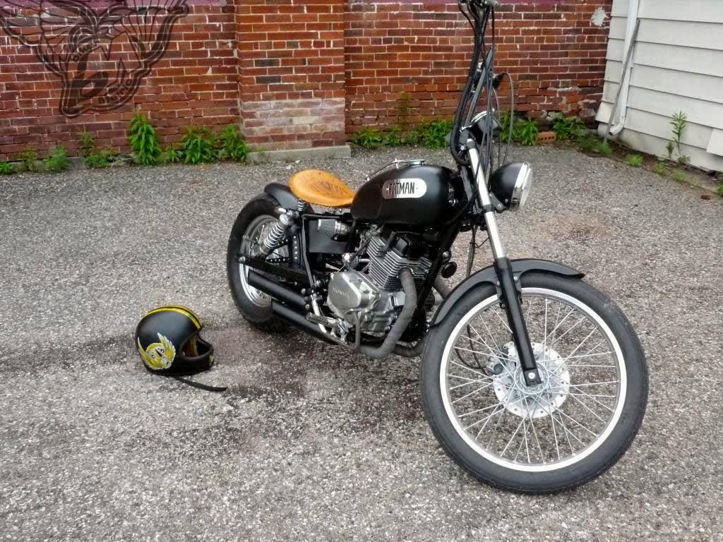 honda rebel bobber  bullit custom cycles bikermetric