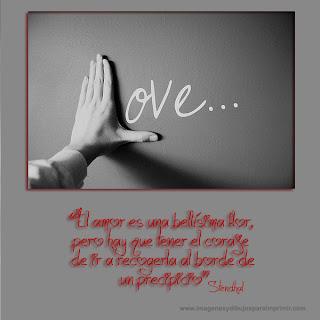 Imagenes y frases de amor