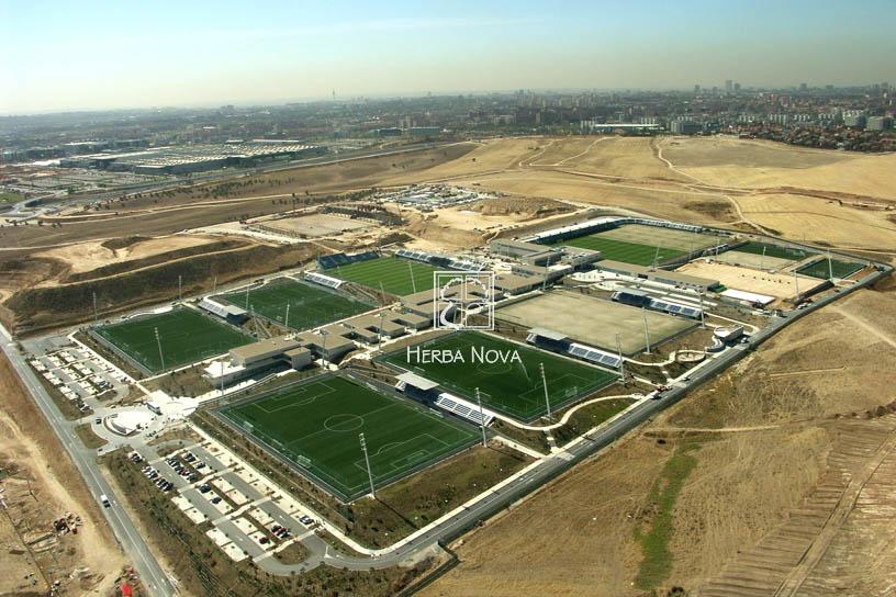 Blog de Paisajismo Herba Nova  El Paisajismo en la Ciudad Deportiva ... b092ef04b8f19