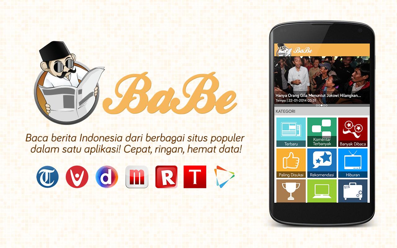 Tambah Wawasan dengan Aplikasi BaBe di Android
