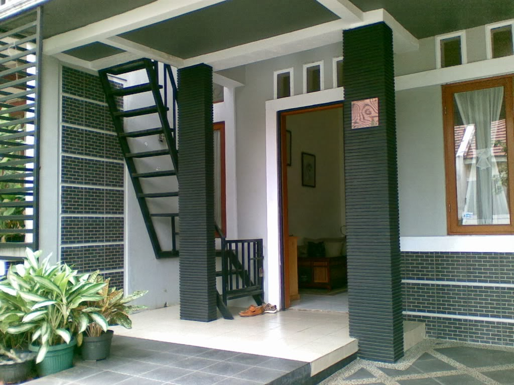 taras rumah minimalis model rumah modern
