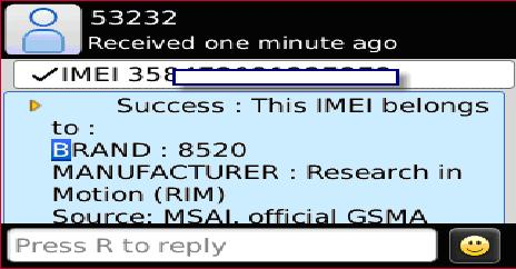 how to get your imei number canada
