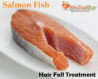 fish salmon Hair loss treatment, Salmon fish hair fall loss remedy and treatment