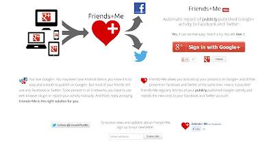 פתרון לפרסום בגוגל+ ואוטומטית בפייסבוק וטוויטר
