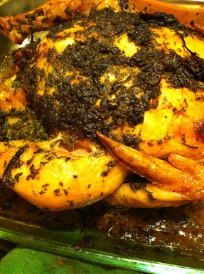 Green Roast Herb & Lemon Chicken