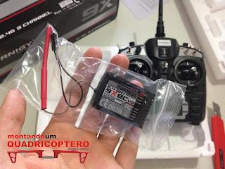 Escolhendo o módulo RX para o Drone