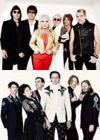 Blondie; Arcade Fire