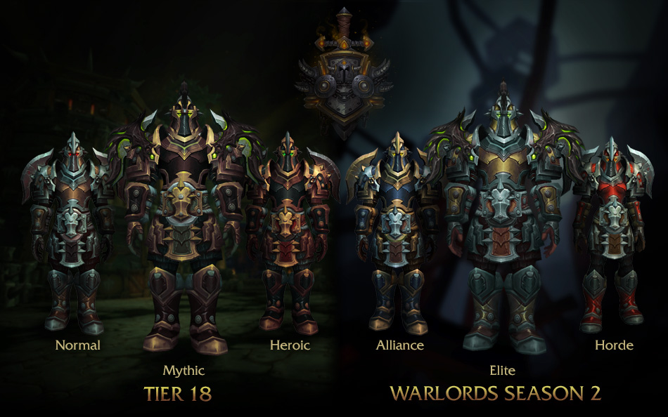 Warlords Of Draenor Warrior Patch 62 Armor Preview