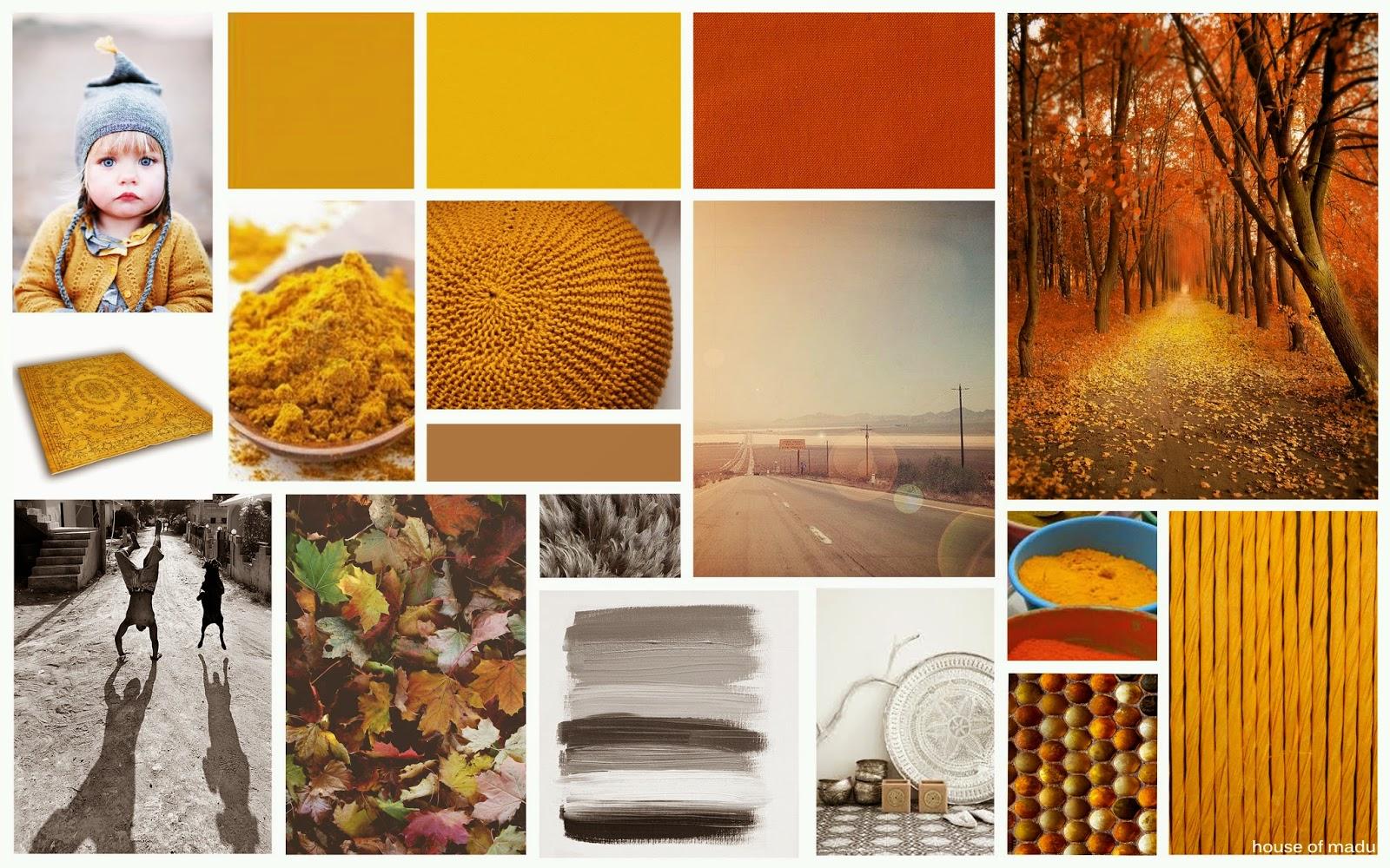 House of madu blog warme kleuren voor een knusse herfst - Kussen oranje en bruin ...