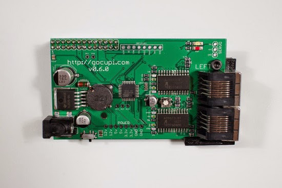 Gocupi main board