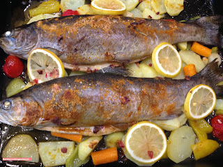 fischiscooking, forelle