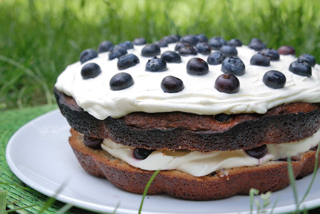 easy blueberry cake recipe