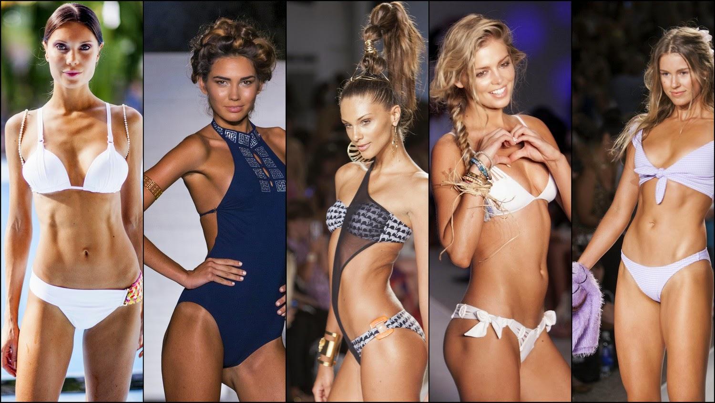 5 Tendencias de de trajes de baño que impactaron en la Semana de Mercedes-Benz en Miami