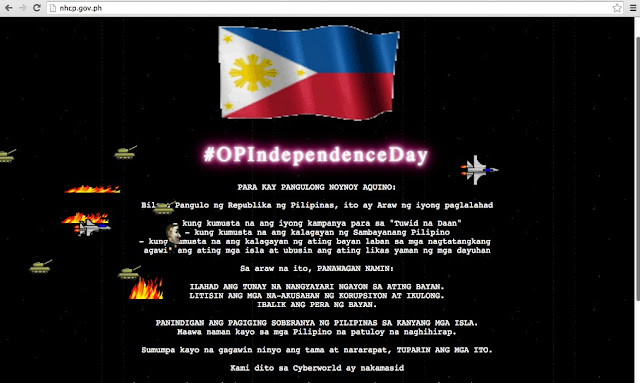 Hackers of Philippine Independence Day