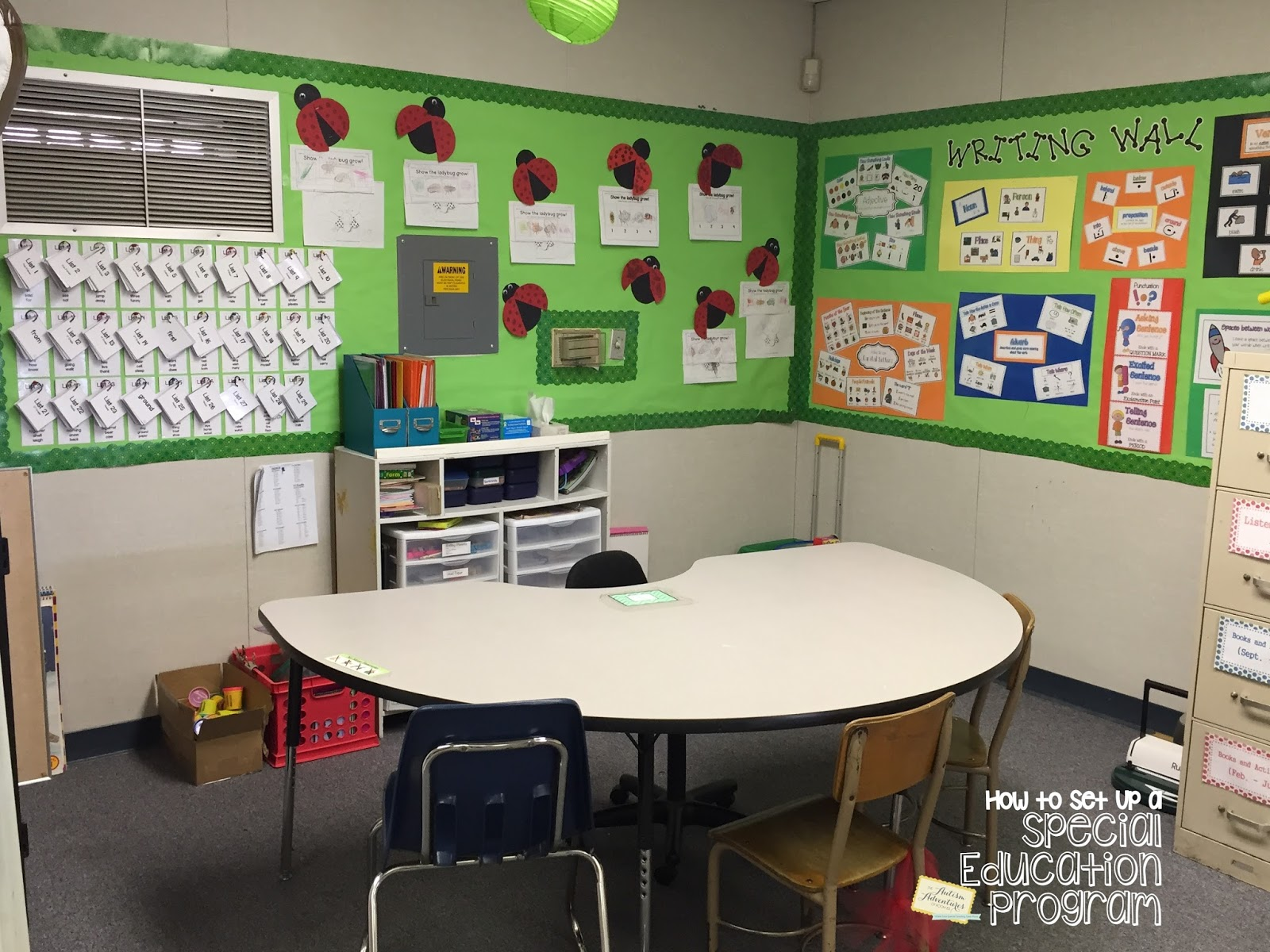 Special Education Classroom Decoration : Quot how to set up a special education program teaching