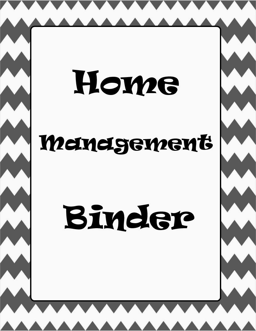 dirt road damsel  home management binder with free printables