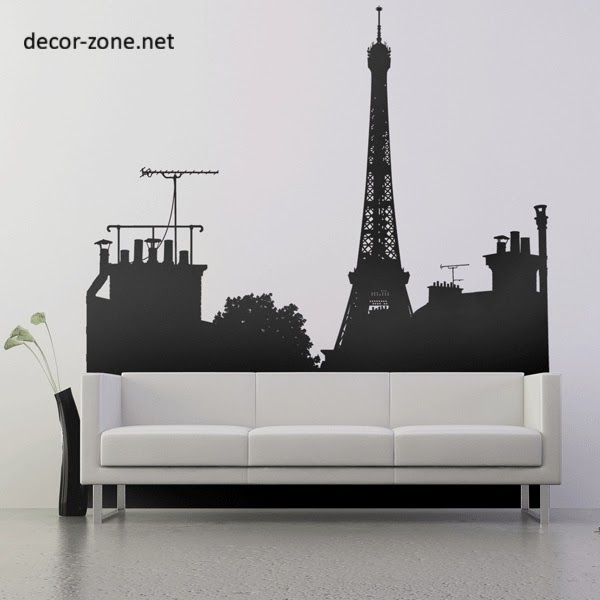 15 creative vinyl wall sticker ideas for all rooms