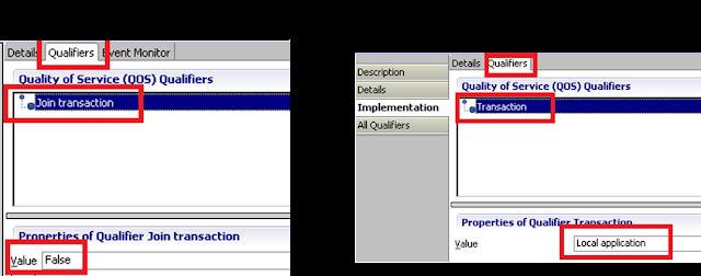 Figure 4 : Java SCA Component Configuration