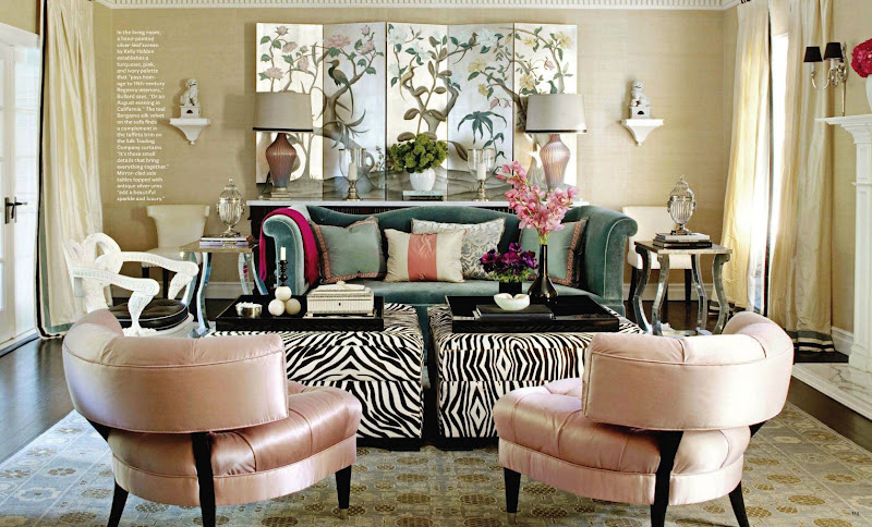 Gorgeous glam inspiration for Hollywood glam living room ideas