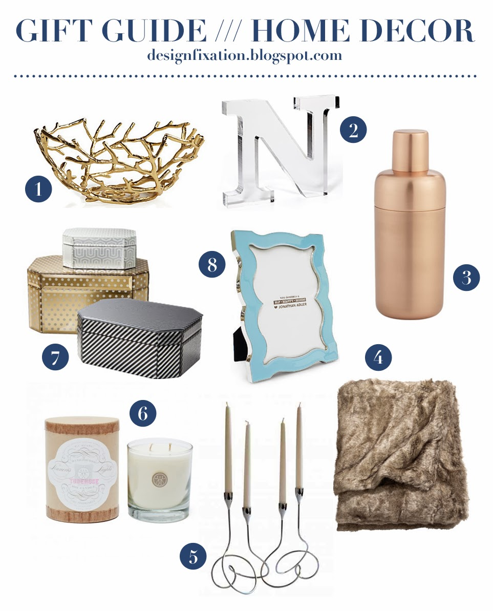 design fixation gift guide glamorous home decor